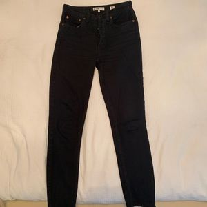 Re/Done High Rise Ankle Crop Jeans 26